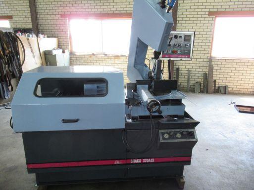 Bandsäge Automat MEP Shark 320 AXI - Metallsäge Maschine