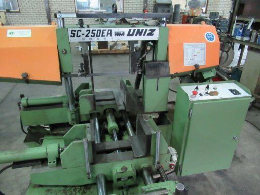 Bandsäge Automat Uniz SC 250-EA - Metallsäge Maschine